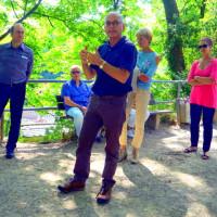 Foto von der Führung mit Thomas Felsenstein am 16.07.2017